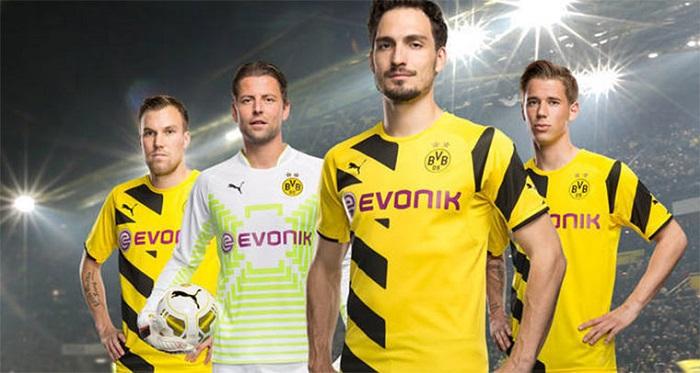 Dortmund hjemme trøje 14/15
