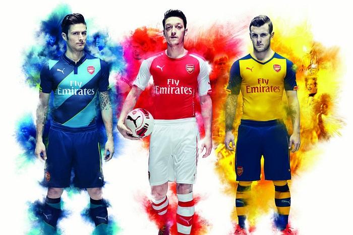 Ny Arsenal 14/15 trøje fra Puma