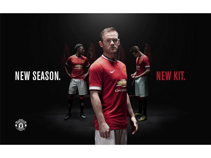 Ny Manchester United hjemmebane trøje 14/15