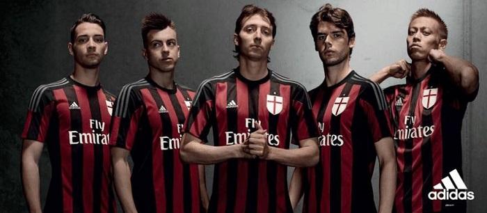 AC Milan hjemme trøje 15/16