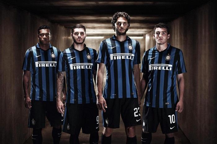 Inter hjemme trøje 15/16