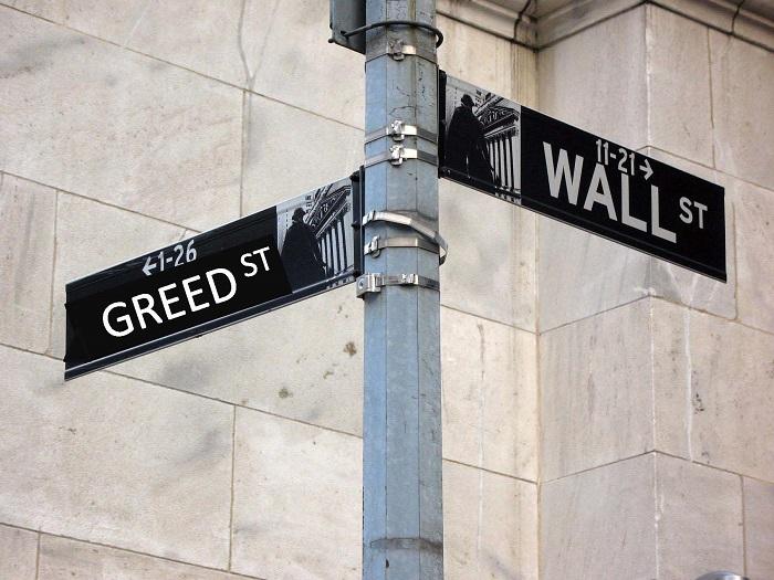 Wall Street og grådighed