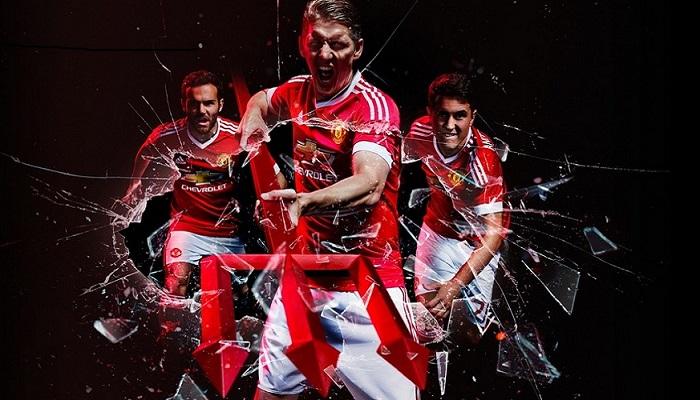 Ny Manchester United hjemme trøje 2015/16