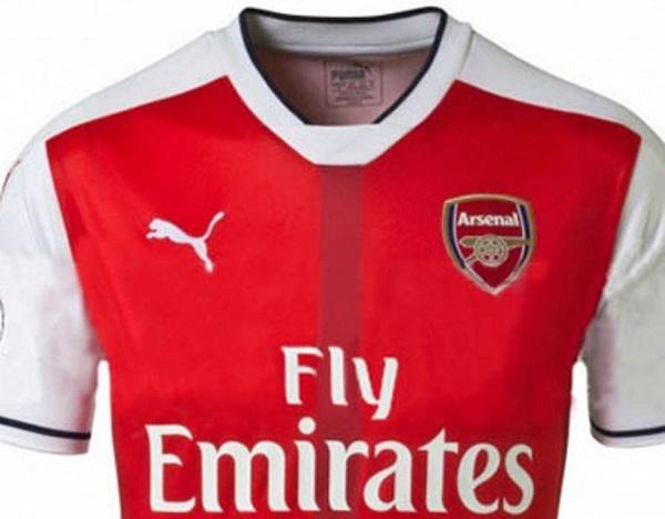 Arsenal hjemme trøje 16/17
