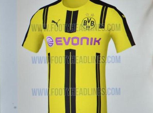 Dortmund hjemme trøje 16/17