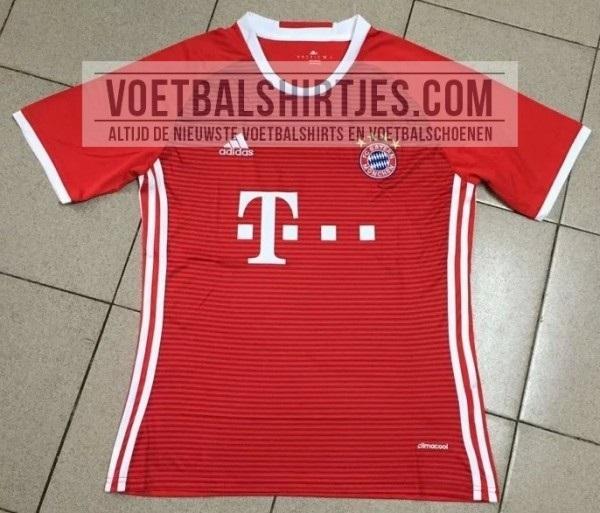 FC Bayern hjemme trøje 2016/17