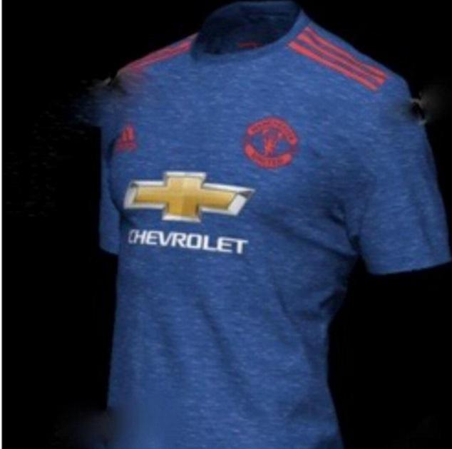 Manchester United udebane trøje 16/17