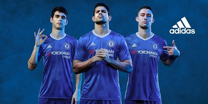 Chelsea hjemme trøje 2016/17
