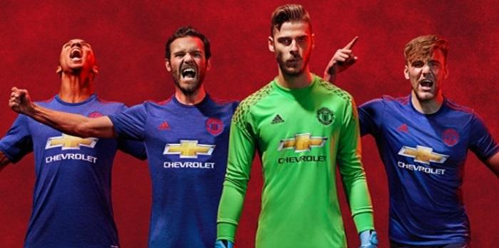 Manchester United ude trøje 16/17