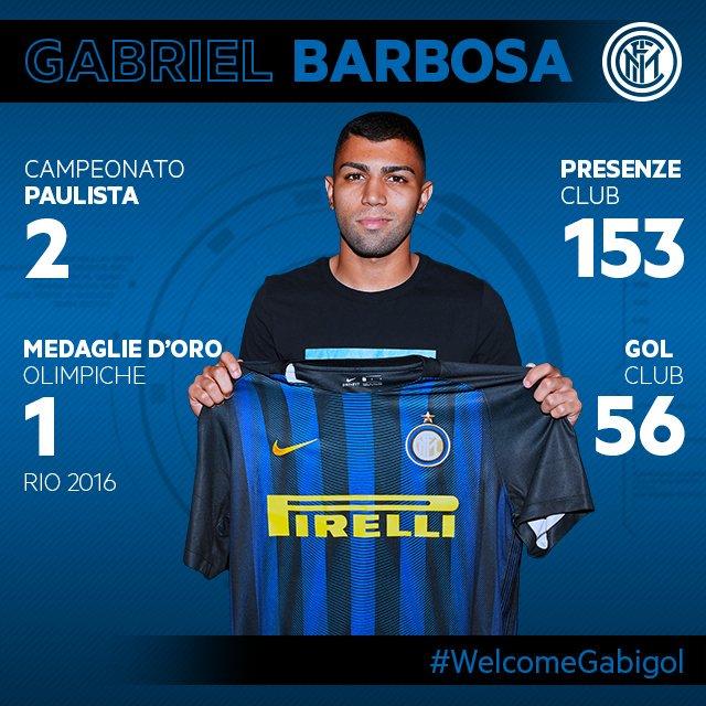 Gabigol med Inter hjemme trøje