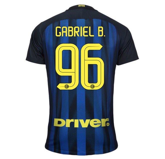 Gabigol 96 Inter hjemme trøje