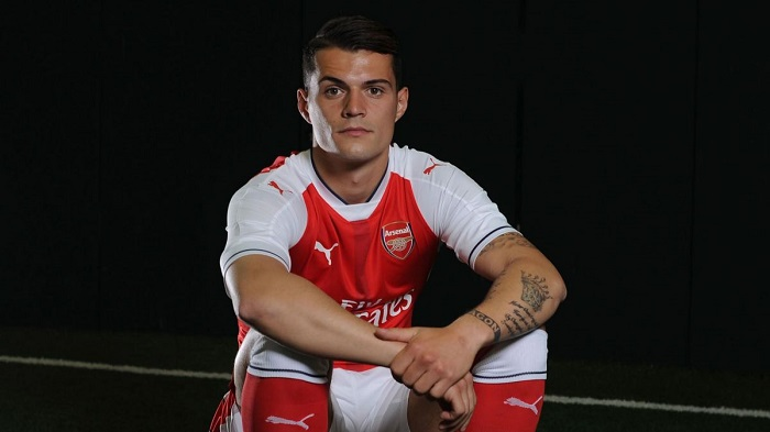 Arsenal hjemme sæt Xhaka 29