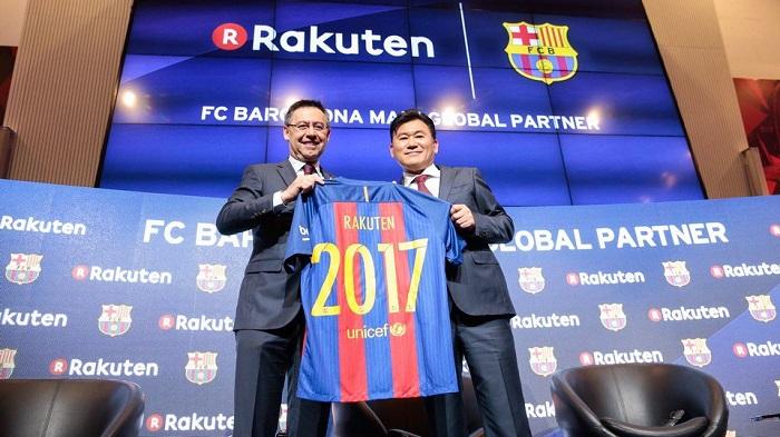 Rakuten og FC Barcelona