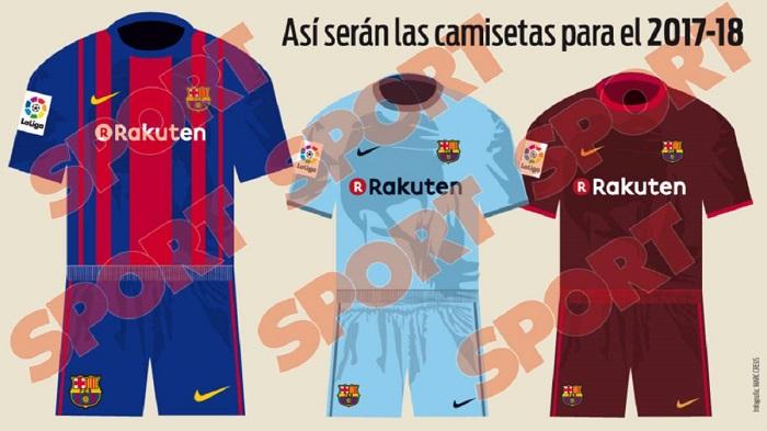 FC Barcelona trøjer 17/18