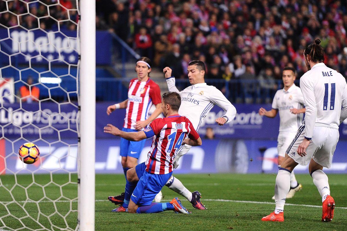 Atletico La Liga trøje og tryk