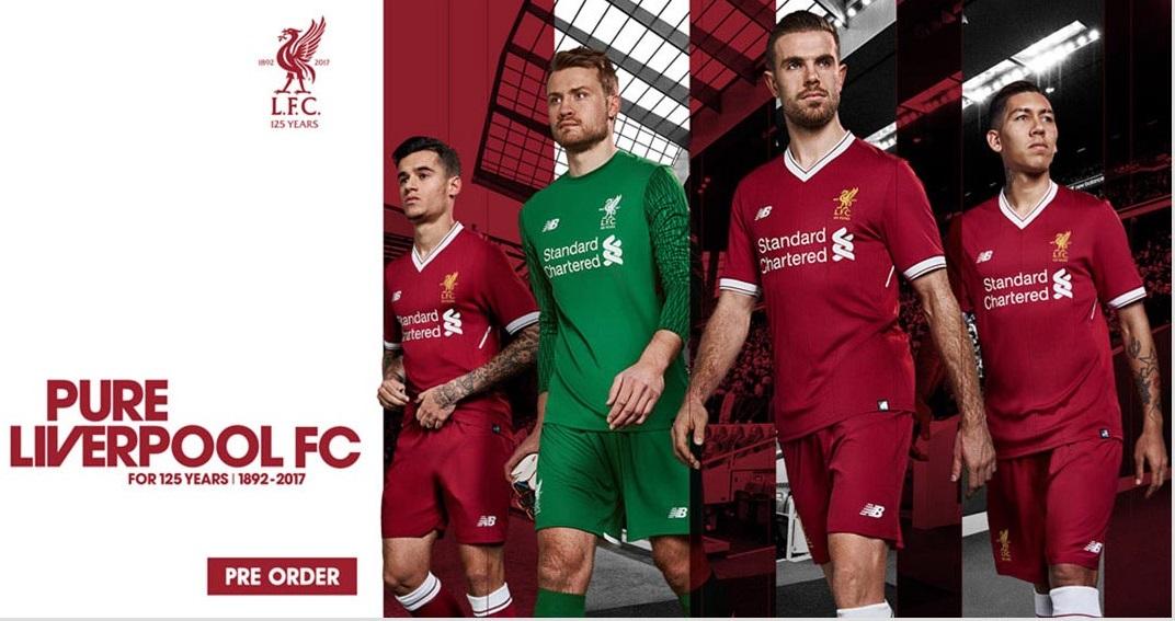 Liverpool hjemme trøje 2017/18!