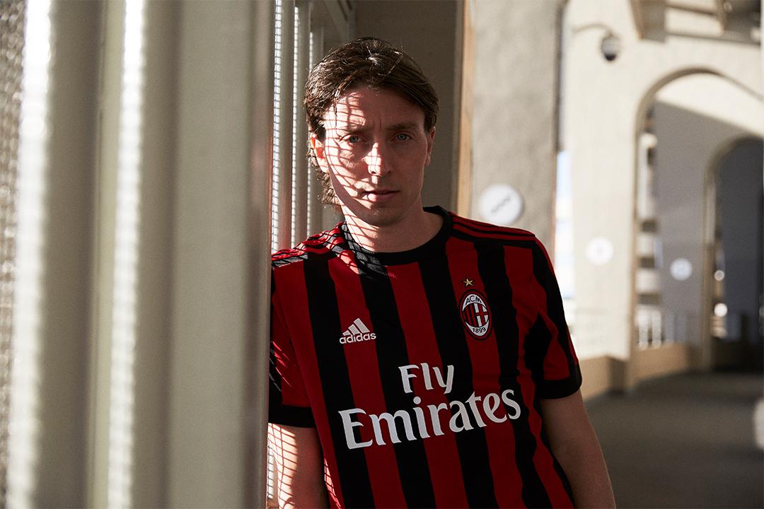 AC Milan 17/18 hjemme trøje