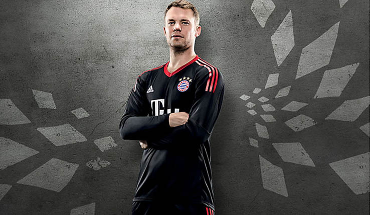 Bayern målmandstrøje 17/18