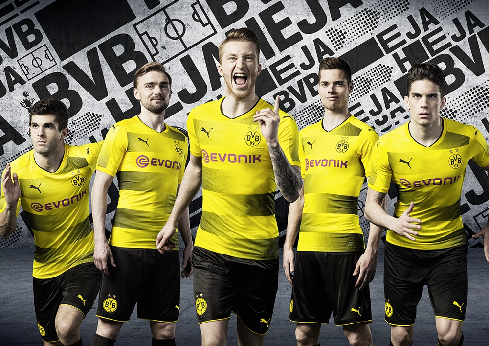 Dortmund hjemmebane trøje 17/18