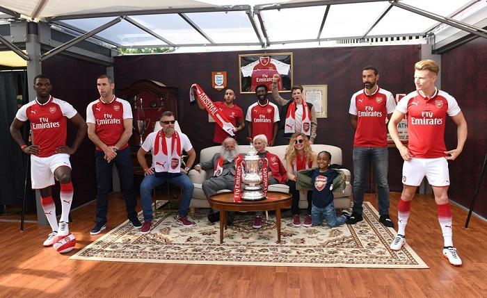 Arsenal hjemme trøje 2017/18