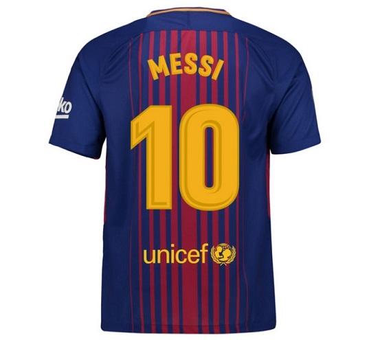 Barca hjemme trøje Messi 10