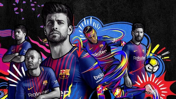 FC Barcelona hjemme trøje 17/18