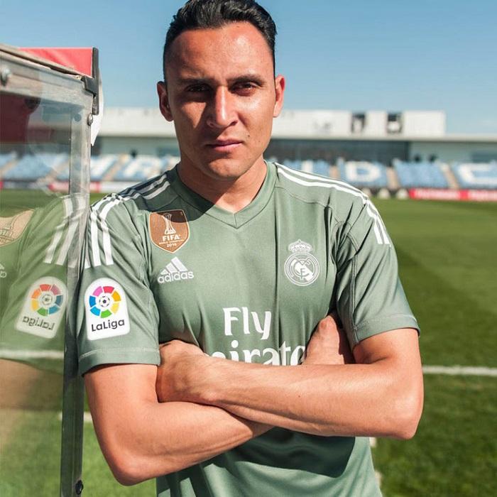 Real Madrid målmandstrøje Navas