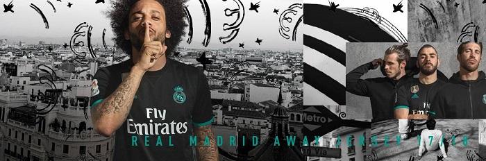 Real Madrid ude trøje 2017/18
