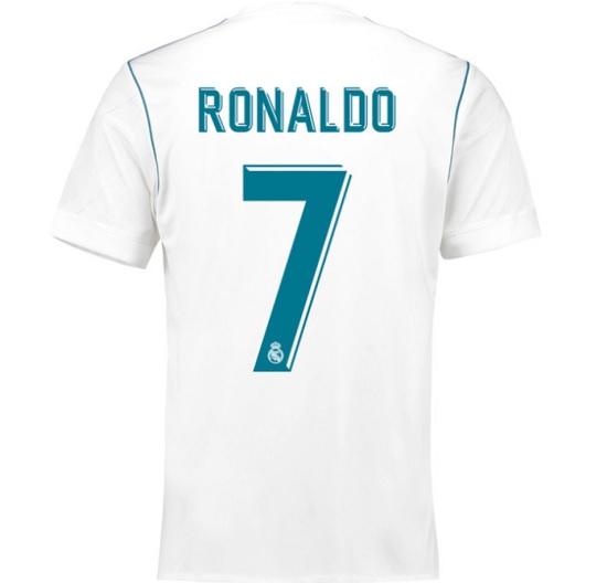 Real Madrid hjemme trøje - Ronaldo 7