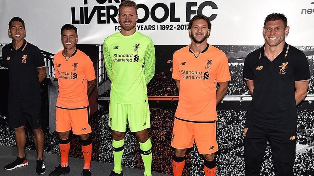 Liverpool 3. trøje 17/18