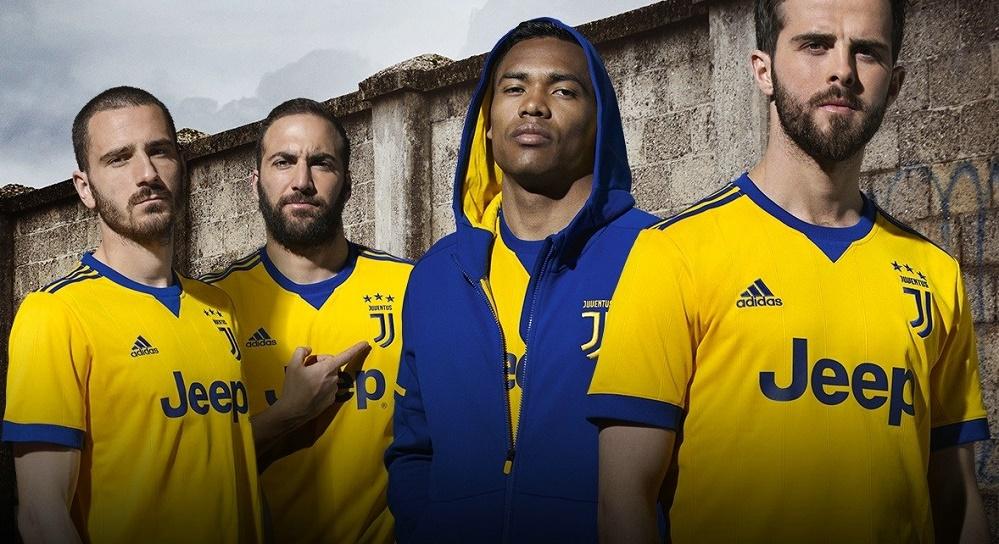 Juventus ude trøje 2017/18