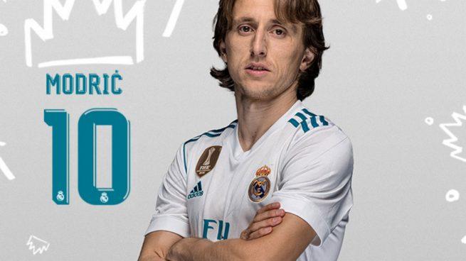 Real Madrid trøje Modric 10