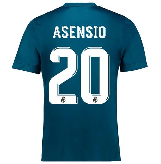 Real Madrid 3. trøje Asensio 20