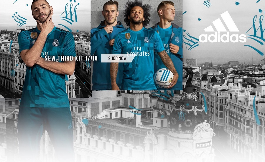 Real Madrid 3rd jersey 17/18