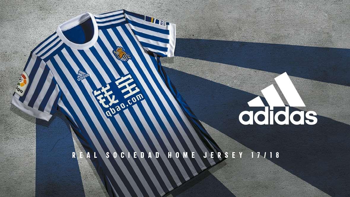 Real Sociedad hjemme trøje 17/18