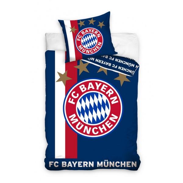 FC Bayern München sengetøj i mørkeblå