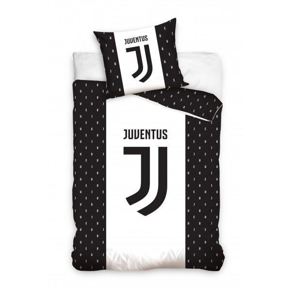 Juventus sengetøj med nyt logo