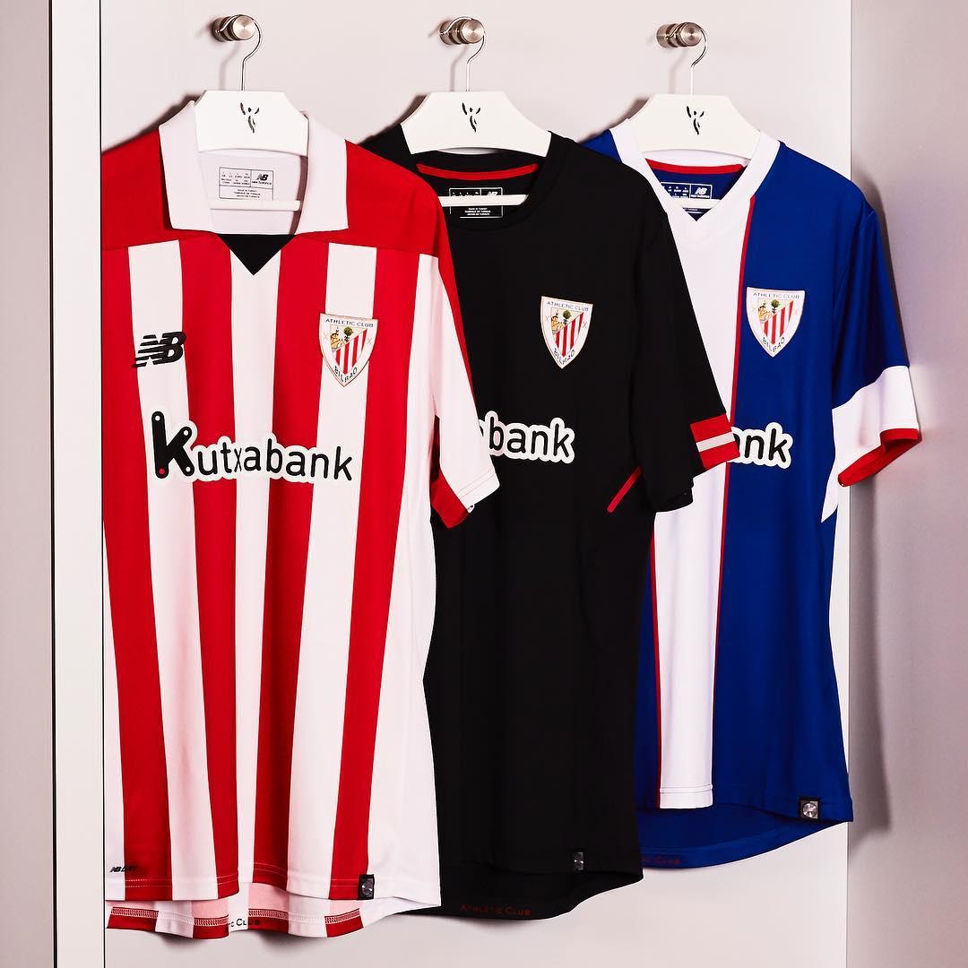 Athletic Bilbao ude og tredje trøje