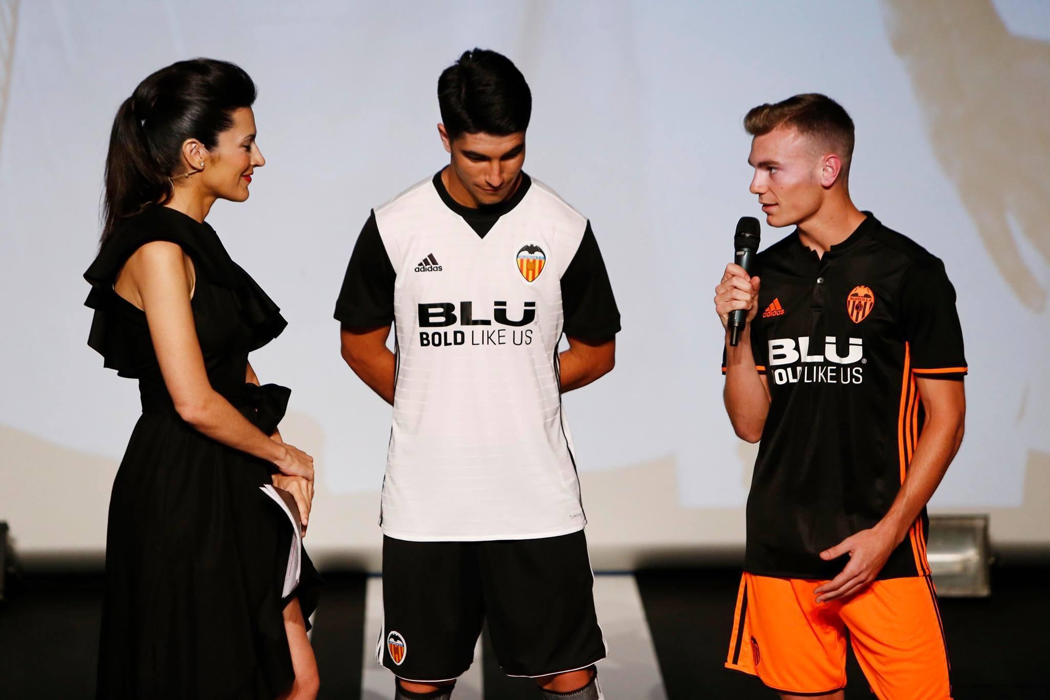 Valencia tredje trøje i sort