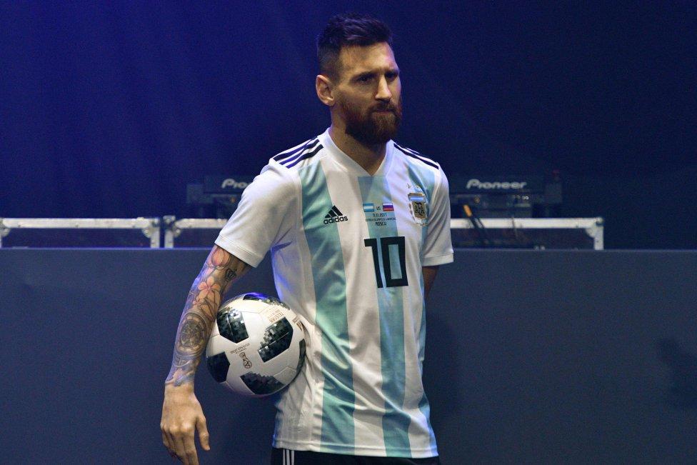 Argentina hjemme trøje VM 2018