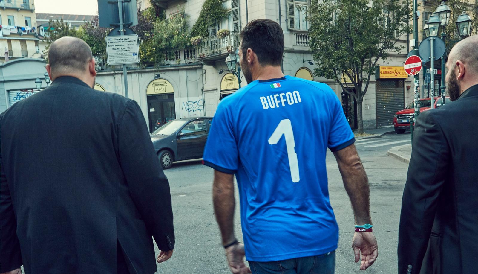 Italien hjemme trøje Buffon 1