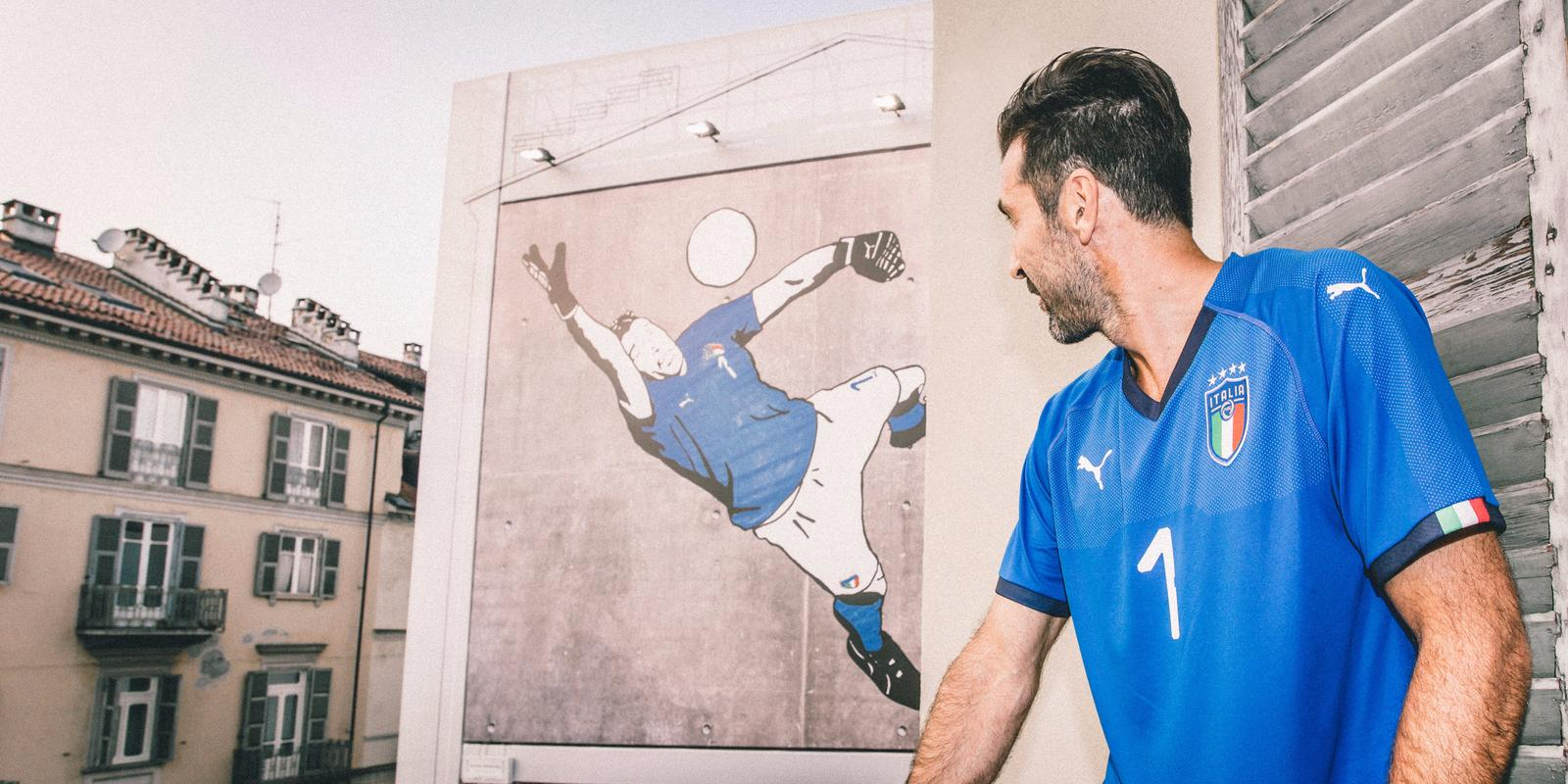 Italien hjemme trøje Buffon