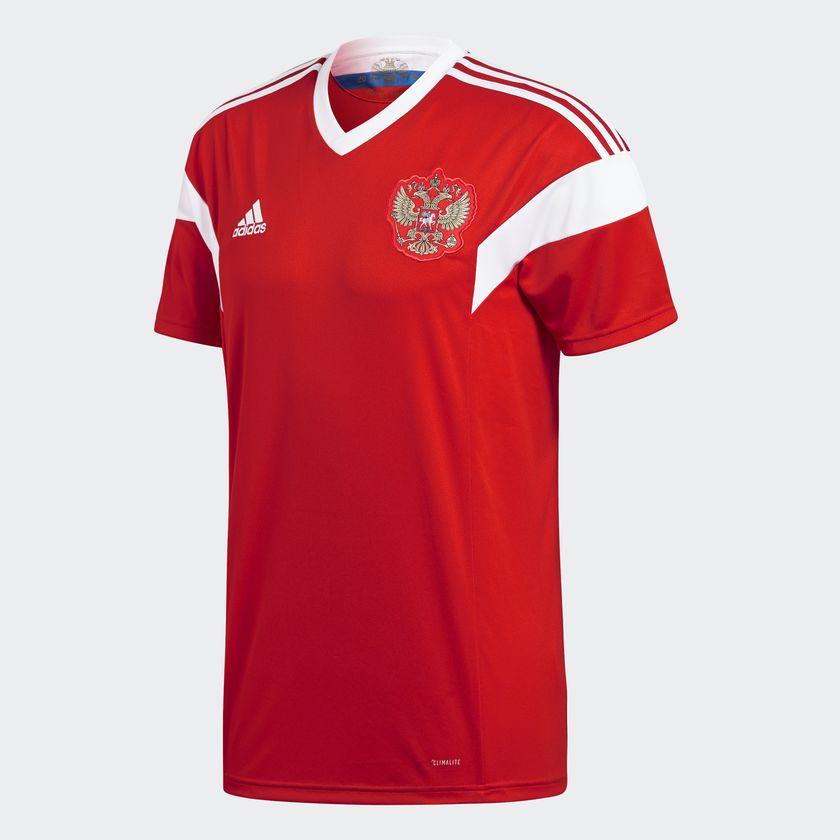 Rusland hjemmetrøje VM 2018