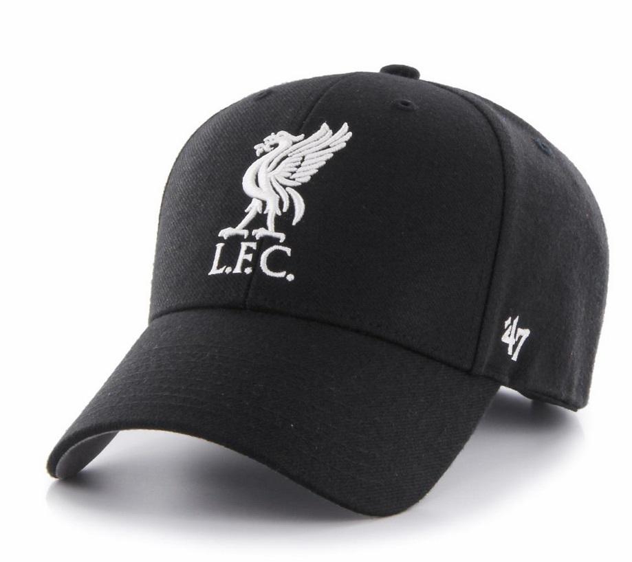 Liverpool kasket i sort