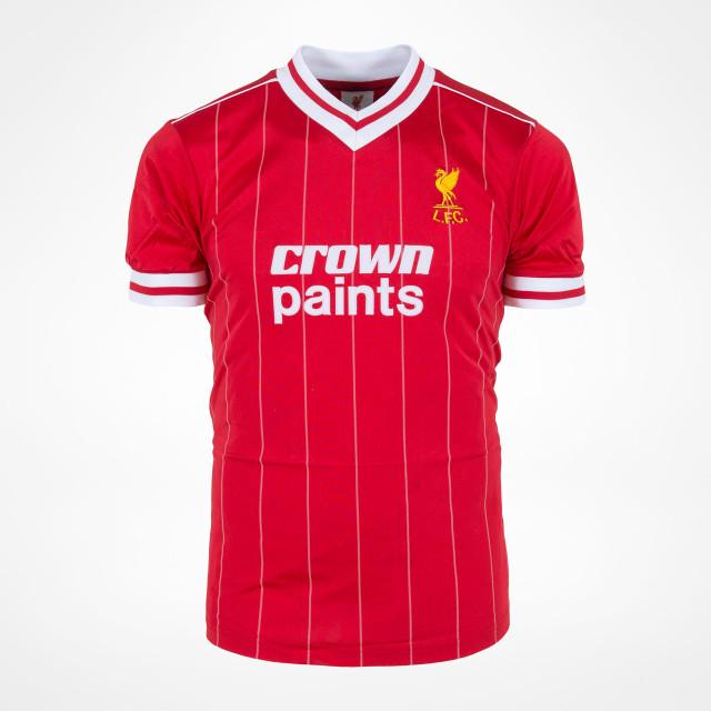 Liverpool 1982 retro trøje