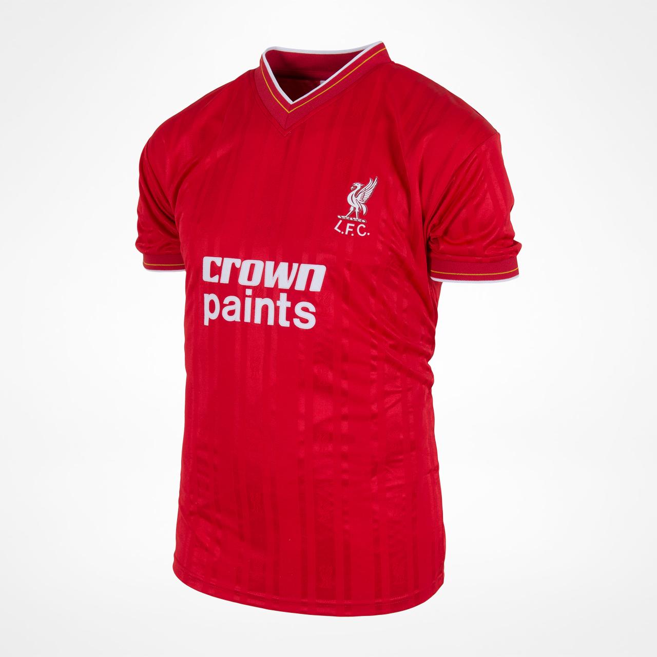 Liverpool 1986 retro trøje
