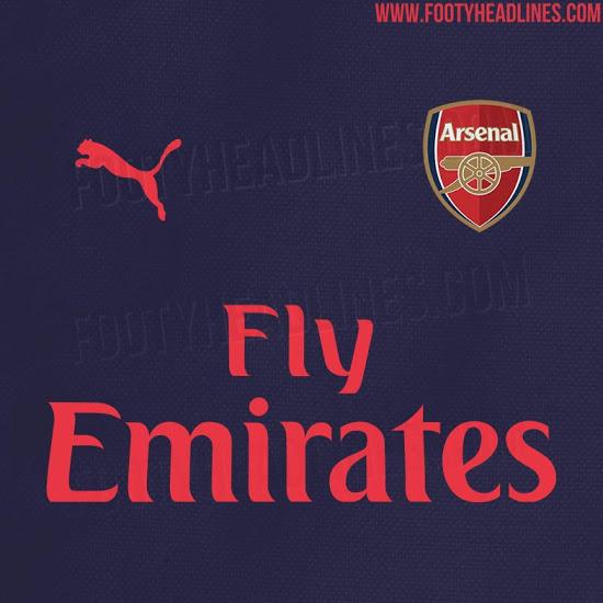 Ny Arsenal ude trøje 18/19
