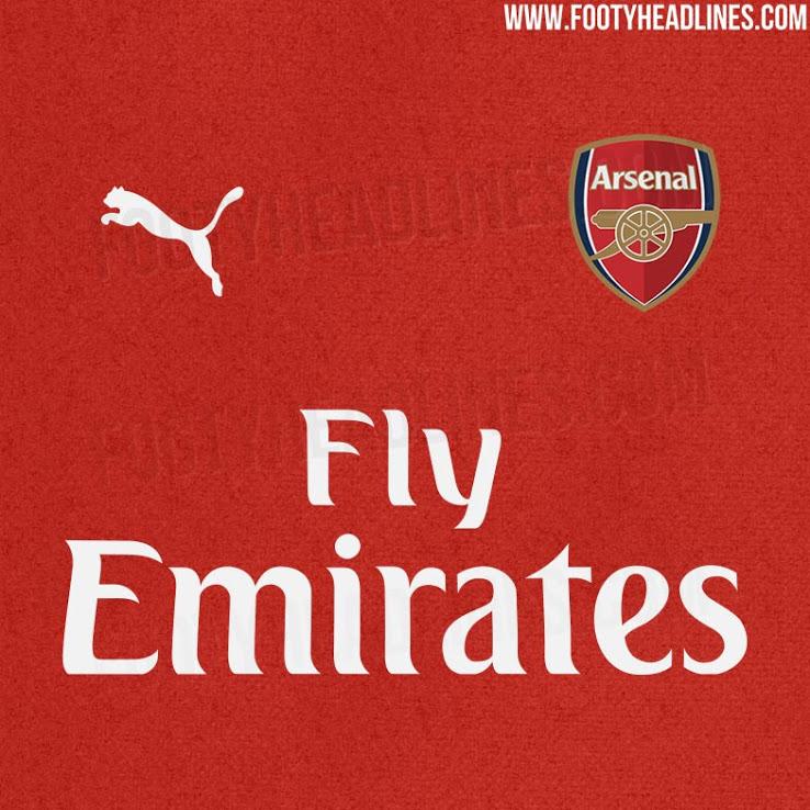Arsenal hjemme trøje 18/19