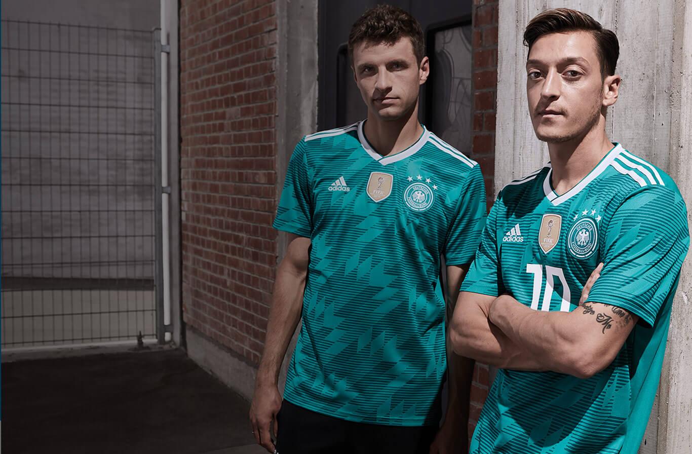 Tyskland udebane trøje 2018