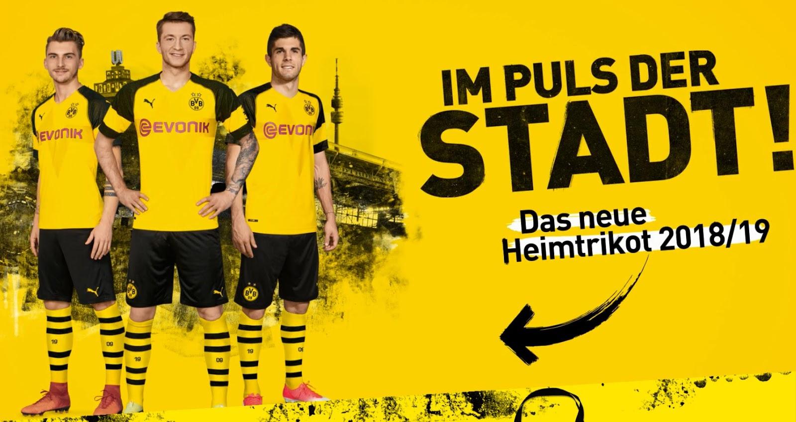 Dortmund hjemme trøje 18/19